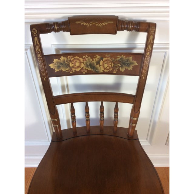 Vintage Hitchcock Inn Chair - Image 5 of 8