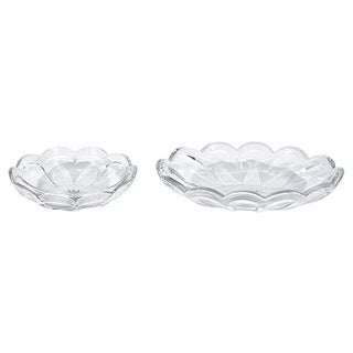 Heisey Glass Bowls - Pair