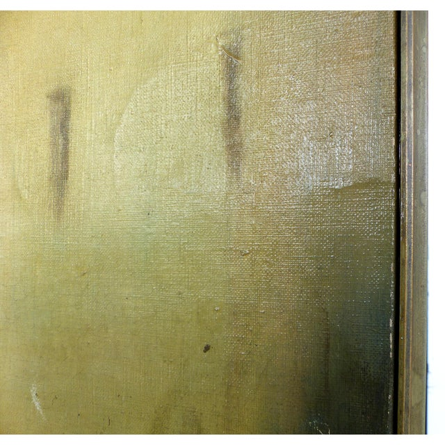 19th-C. Venetian Oil on Canvas Screen - Image 9 of 11
