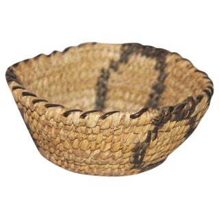 Amazing Miniature Papago Indian Basket