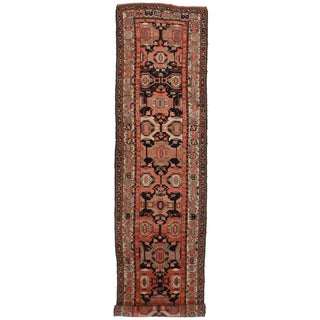 Antique Persian Malayer Runner - 3′3″ × 16′4″