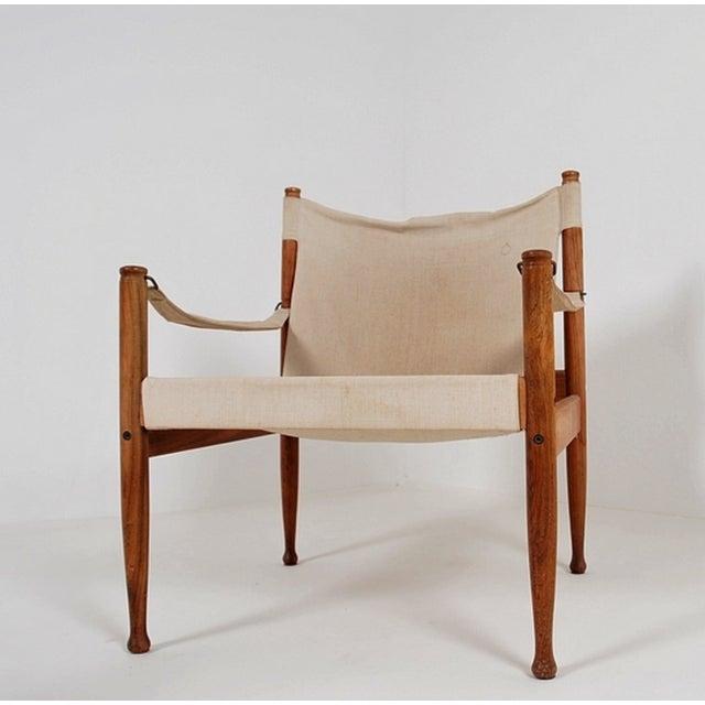 Image of Safari Sling Lounge Chairs by Erik Wørts - A Pair