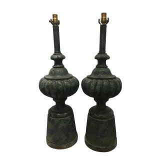 Tye of California Ceramic Table Lamps - A Pair