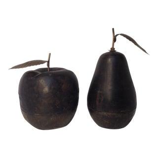 Apple & Pear Decor - A Pair