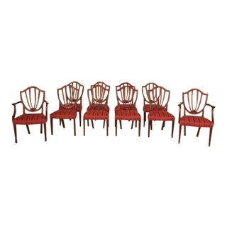 Baker Historic Mahogany Dining Chairs - Set of 10