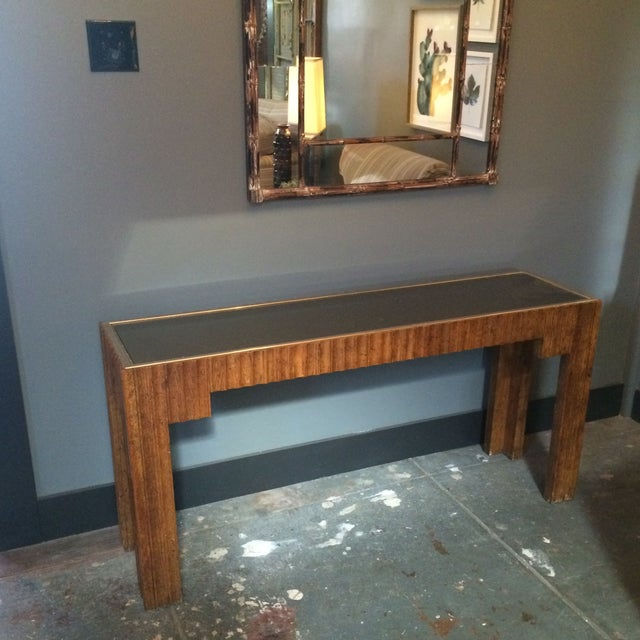 1970's Thomasville Sculptural Console - Image 2 of 8
