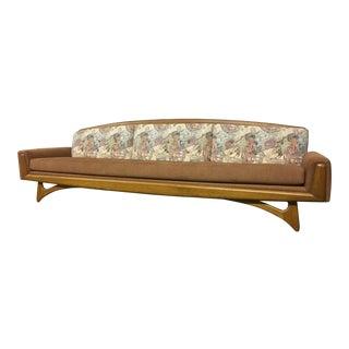 Mid-Century Modern Pearsall Style Kroehler Boomerang Gondola Sofa