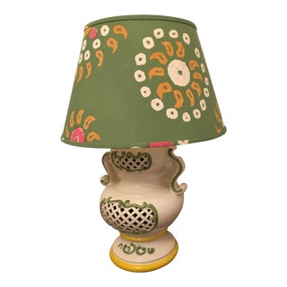 Vintage Italian Ceramic Table Lamp