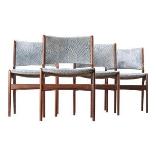Mahogany Dining Chairs - Set of 4