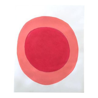 "Neicy Frey ""Dot No. 31, Gum"" Original Painting on Paper"