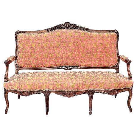 italian louis xv style sofa chairish