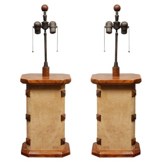 Vintage Table Lamps - A Pair