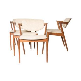 'Z' Chairs by Kai Kristiansen - Set of 4