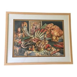 Debbie Reed Framed Watercolor