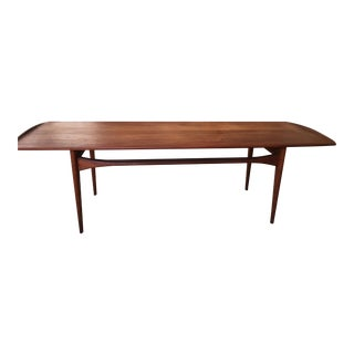 Tove & Edvard Kindt-Larsen Solid Teak Coffee Table