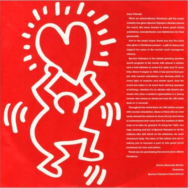 Image of Vintage Original Keith Haring Vinyl Art Cover