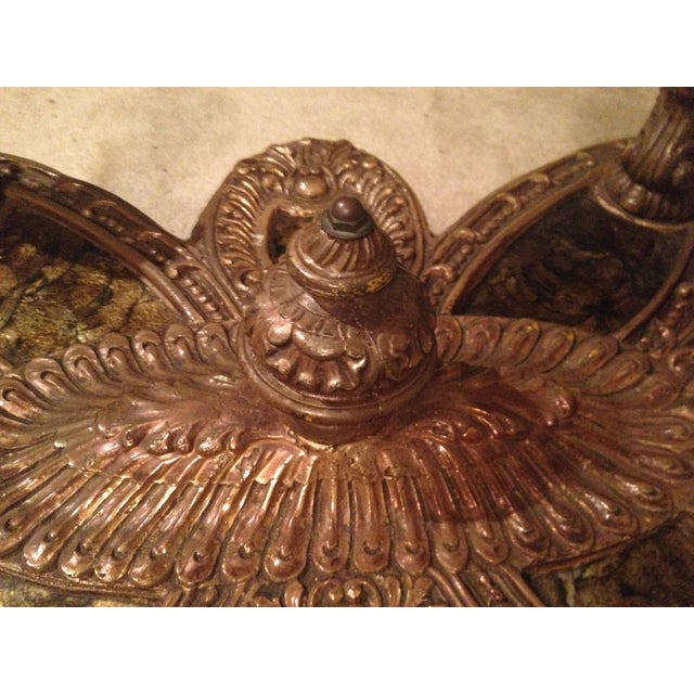 Ornate Italian Baroque Coffee Table Base and Shell - Image 4 of 6