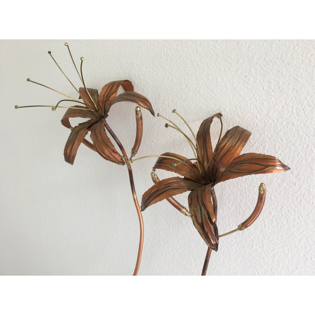 Image of 1970s Copper & Brass Wall Art