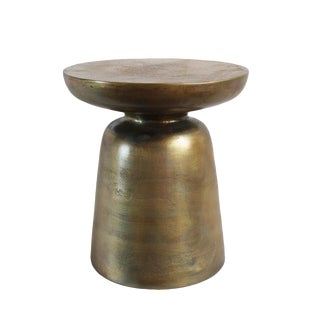 Ibiza Brass Side Table