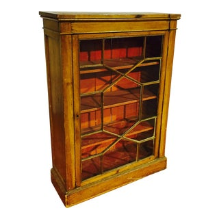 Antique French Library Cabinet Bookcase