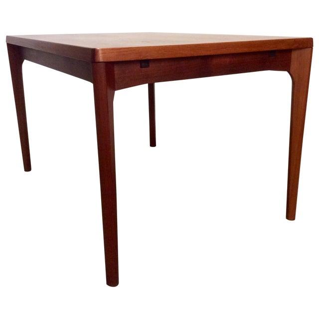 Danish Modern Teak Extension Dining Table - Image 1 of 6