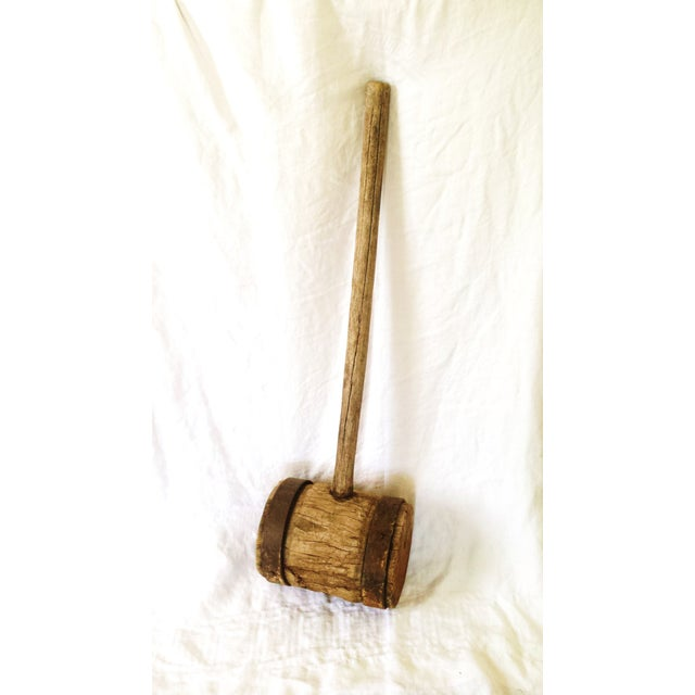 Primitive Strong Man Circus Mallet - Image 4 of 9