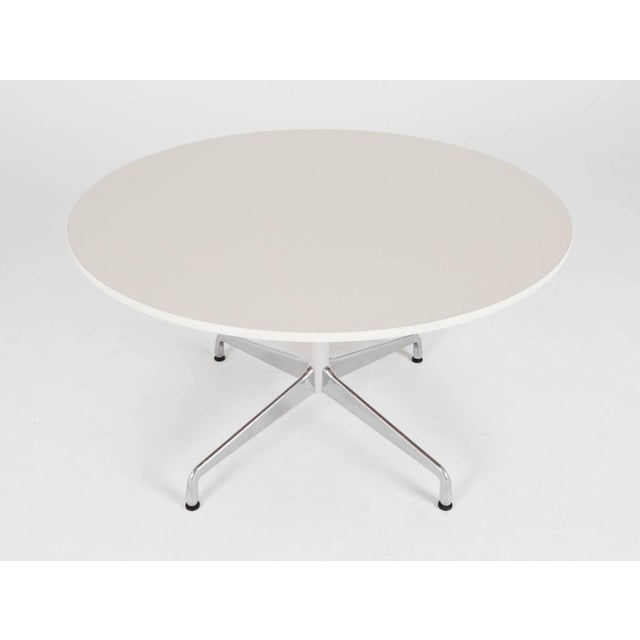 Eames Herman Miller Round Dining Table - Image 3 of 5