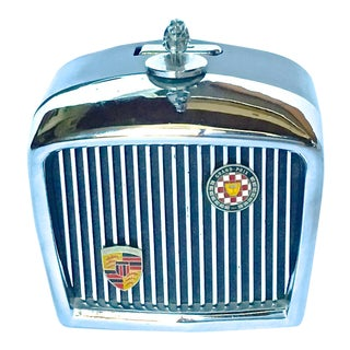 Vintage Jaguar Grill Novelty Lighter