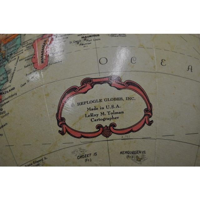 Image of Vintage Globe on Stand C.1970