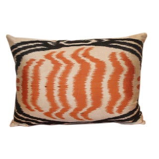 """Belize"" Silk Atlas Accent Pillow"