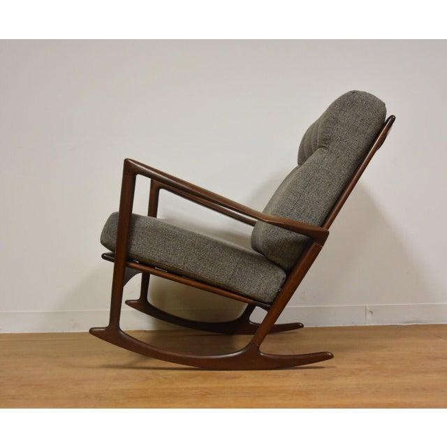 Ib Kofod Larsen for Selig Rocking Chair - Image 4 of 11