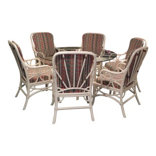 Ficks Reed Dining Set - Set of 7