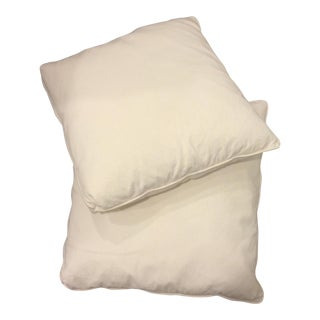 Extra Large Plain Pillows - A Pair