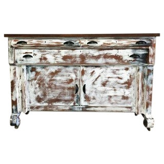 Shabby Chic Hand Painted Buffet