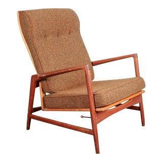 Selig of Denmark Ib Kofod Larsen Reclining Lounge Chair