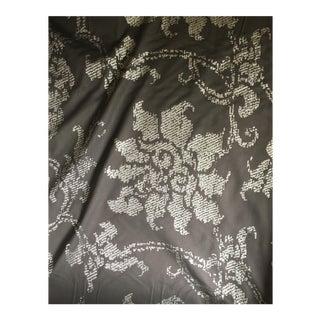 Serena Van Der Woodsen Brown & Gold Floral Fabric