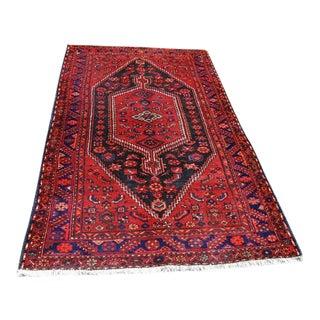 "Hand Woven Semi Antique Persian Nahavand - 4'7"" x 7'5"""