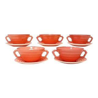 Moderntone Soup Bowls & Plates - 10 Pieces