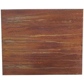 'Bedouin Memoirs' Rust Art by Rg Boire (2014)