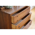 Image of Mid Century Modern Three Drawer Chest / Cabinet
