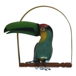 1981 Vintage Bustamonte Style Toucan Sculpture
