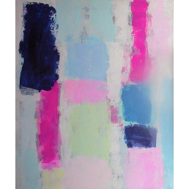"Susie Kate ""Prelude #4"" Original Abstract Painting - Image 1 of 2"