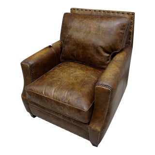 Saddle Leather Side Chair