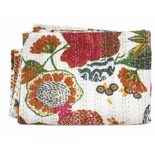Full-Size Fruit Print Throw
