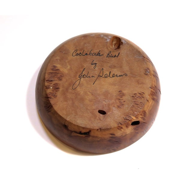 Image of Small Spiral Wood Artisan Dish