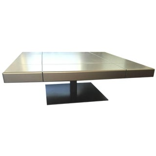 Roche Bobois Grey Coffee Table