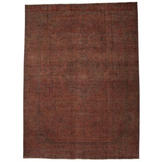 "Vintage, Hand Knotted Area Rug - 9' 10"" x 13' 4"""
