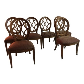 Century Furniture Traditional Wood Dining Chairs - Set of 6