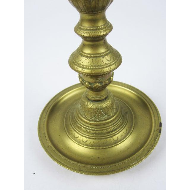 Brass Pedestal Ash Tray - Image 5 of 7