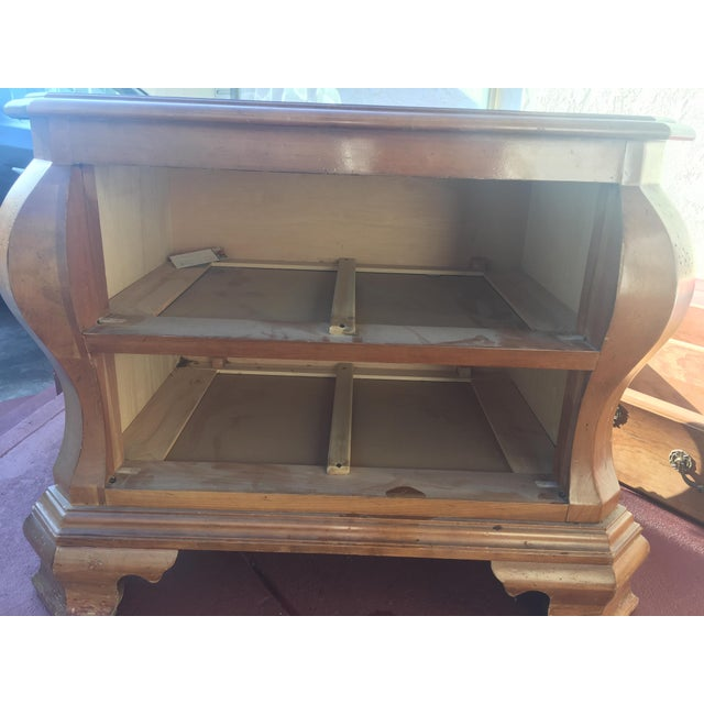 Image of Vintage Side Table With Drawers